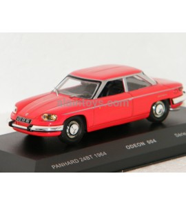 PANHARD 24 BT 1964 RED ODEON For MOMACO 1/43