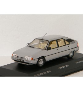 CITROËN BX 1983 GRIS METAL ODEON for MOMACO 1/43