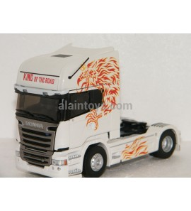 TRACTEUR SCANIA STREAMLINE TOPLINE KING OF THE ROAD ELIGOR 1/43