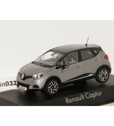 RENAULT CAPTUR 2013 Cassiopee Grey Starry Black NOREV 1/43 - 517771