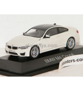 BMW M4 Coupé Blanc Alpin HERPA 1/43 - 70881