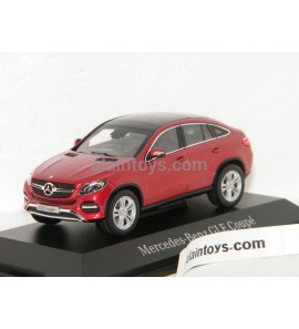 MERCEDES BENZ GLE KLASSE C292 COUPE 2015 RED METALLIC NOREV 1/43 - BP6960357