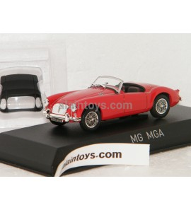 MG MGA Roadster 1956 Orient red NOREV 1/43 - 370022