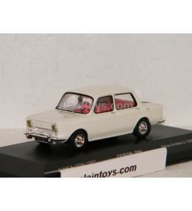 SIMCA 1000 1967 IVOIRE ODEON by MOMACO 1/43 - 008