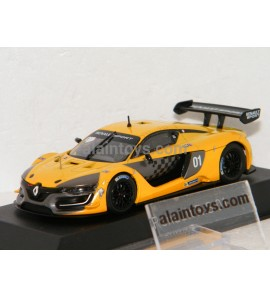 RENAULT R.S.01 2015 Official Yellow Prestation Version NOREV 1/43 - 517690