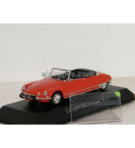 CITROËN DS19 CABRIOLET 1965 Corail Red NOREV 1:43 - 157009
