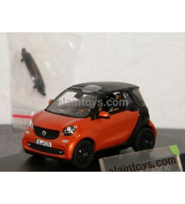 SMART Fortwo Cabrio 2015 Orange/Black NOREV 1/43 - 351422