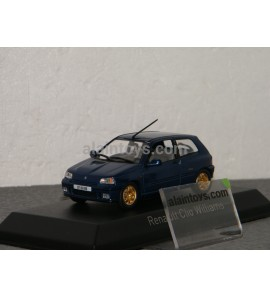 RENAULT CLIO Williams Blue 1996 NOREV 1/43 - 517521