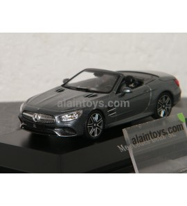 MERCEDES BENZ SL Spider 2012 Selenite Grey SPARK 1/43 - B66960532