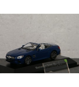 MERCEDES BENZ SL Spider 2012 brillant blue SPARK 1/43 - B66960533