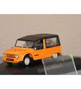 CITROËN MEHARI 1983 ORANGE NOREV 1/43 - 150922