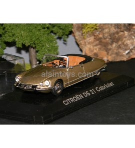 CITROËN DS 21 CABRIOLET 1966 COULEUR SHARA GREY NOREV 1/43 Ref 158115
