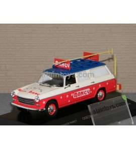 PEUGEOT 404 COMMERCIALE Cirque SABINE RANCY ODEON 1/43 - 016
