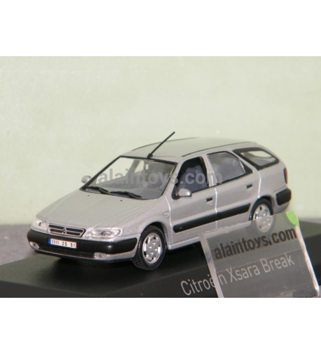 CITROËN XSARA Break 1998 Quartz Grey NOREV 1/43 - 154306