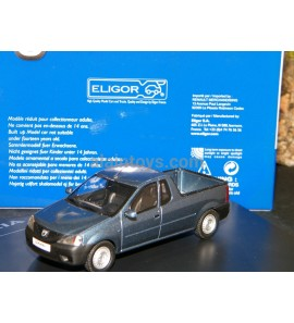 DACIA LOGAN PICK UP 2008 BLEU MINERAL ELIGOR 1/43