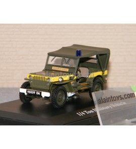 JEEP SECURITÉ CIVILE OLIEX 1/43 - 90145