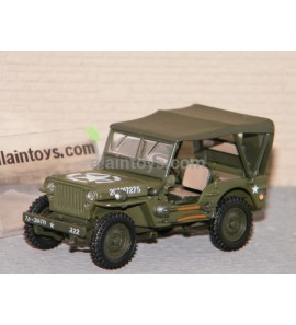 JEEP WILLYS COUVERTE US CARARAMA 1/43 - 950D-4 - 4-90180