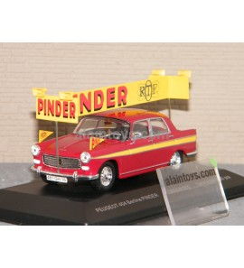 PEUGEOT 404 BERLINE CIRQUE PINDER ODEON 1/43 - 019