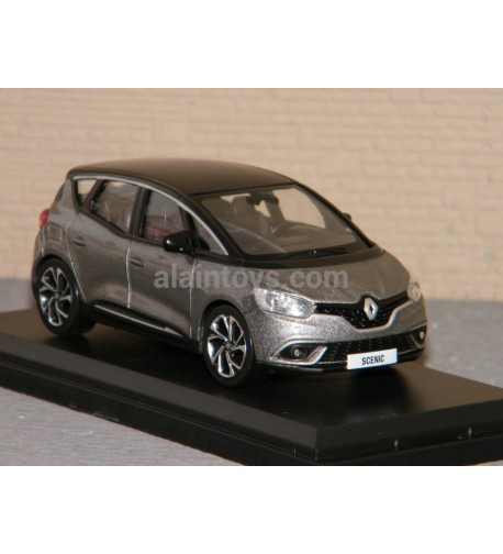 RENAULT SCENIC 2016 Cassiopee Grey & Black NOREV 1/43 Ref 517732