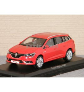 RENAULT MEGANE ESTATE 2016 Red NOREV 1/43 Ref 517799