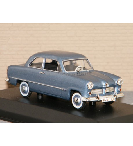 FORD 12M 1954 Blue metallic NOREV 1/43 Ref 270575