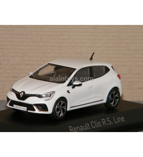 RENAULT CLIO RS Line 2019 Pearl White NOREV 1/43 Ref 517588
