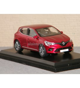 RENAULT CLIO 2019 Flamme Red NOREV 1/43 Ref 517587