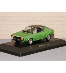 RENAULT R17 1974 GREEN SOLIDO 1/43 Ref S4305000
