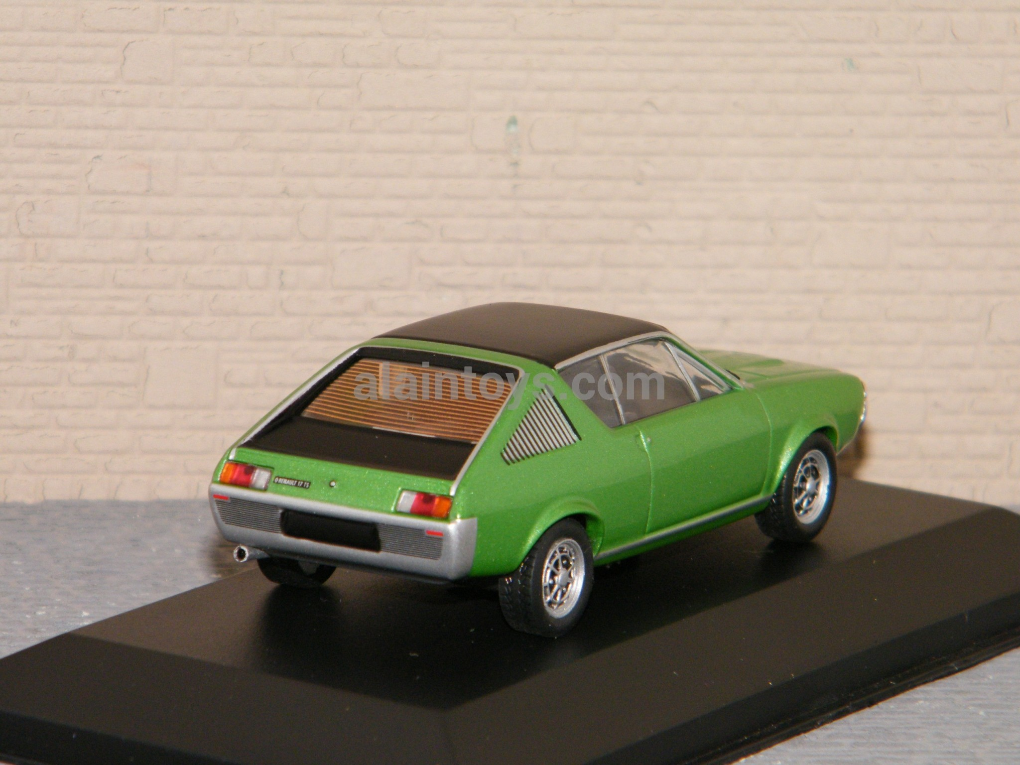 S4305000 SOLIDO Renault 17 1974 Green 1//43