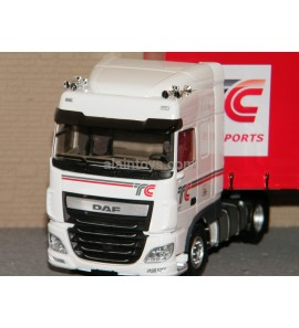 DAF XF MY 2017 SPACE CAB TAUTLINER TC TRANSPORTS ELIGOR 1/43 Ref 116569