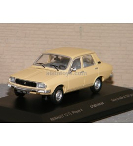 RENAULT 12 TL Phase 2 Beige ODEON 1/43 Ref 040