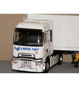 RENAULT T HIGHT SEMI FOURGON FRET 40 ans TRANSPORTS CANTAL FRET ELIGOR 1/43 Ref 116594