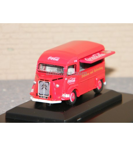 CITROËN TYPE H COCA COLA OXFORD 1/76 Ref 76CIT003CC