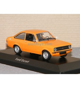 FORD ESCORT 1975 ORANGE MINICHAMPS 1/43 Ref 940084101
