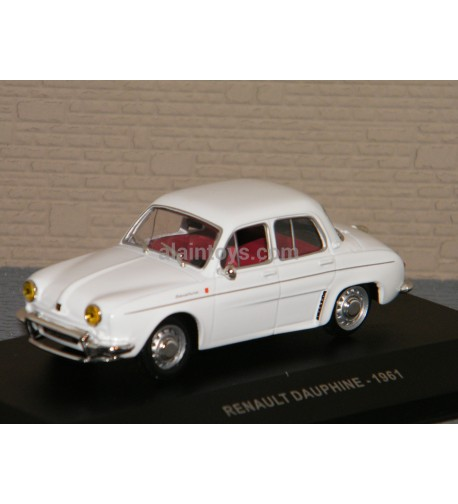 RENAULT DAUPHINE 1961 WHITE SOLIDO 1/43 Ref S4304300
