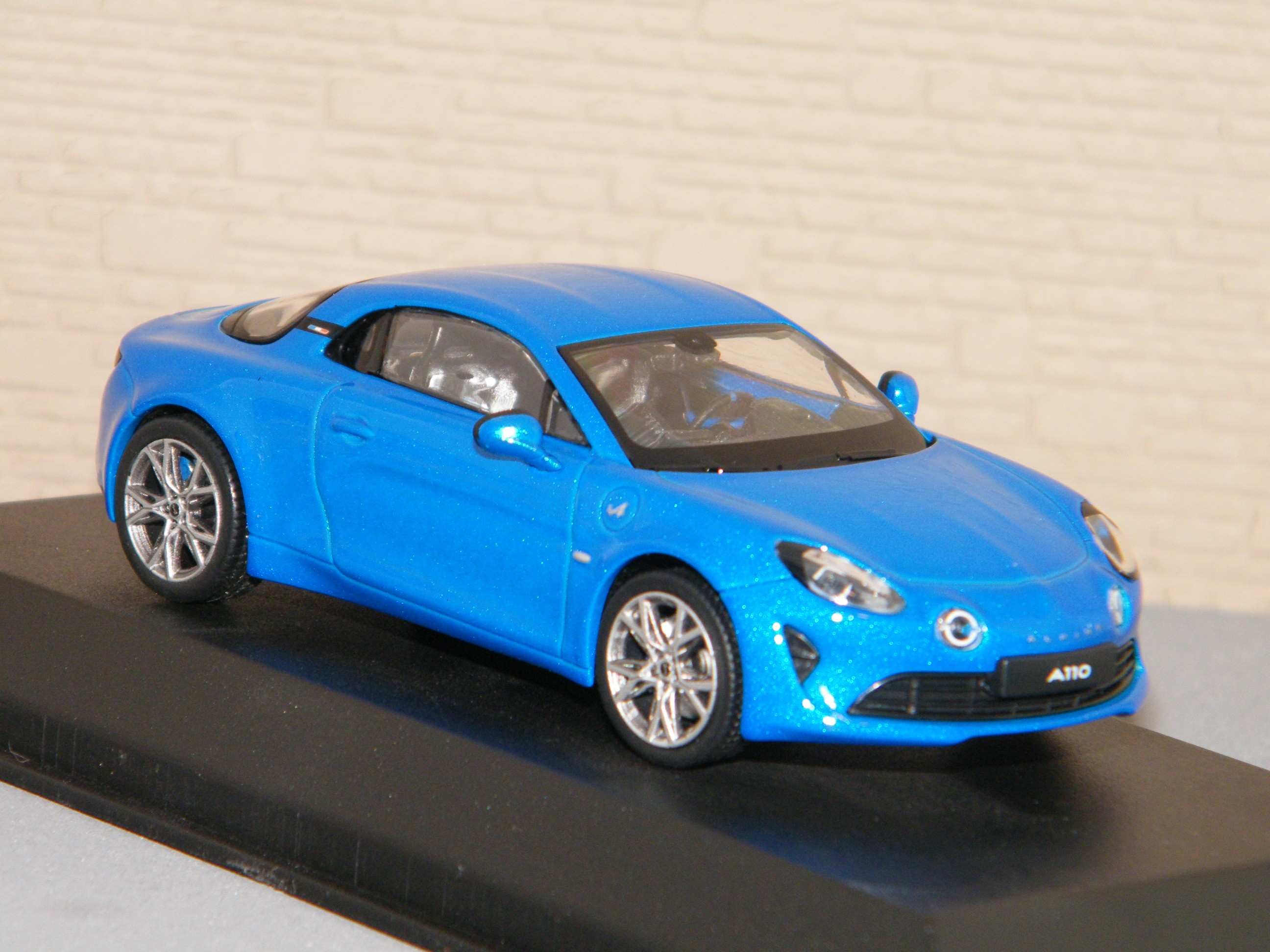 NOREV 517866 Alpine A110 Pure 2018 Alpine Blue 1//43