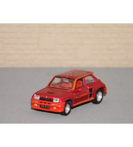 Renault 5 Turbo 1980 Red Metallic NOREV 1/87 Ref 510524