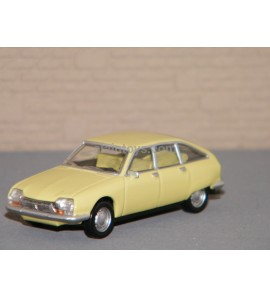 CITROËN GS Primevère Yellow 1/64 Ref 310915