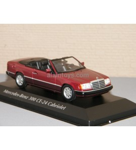 MERCEDES BENZ 300 CE-24 Cabriolet 1991 Re Metallic MINICHAMPS 1/43 Ref 940037030