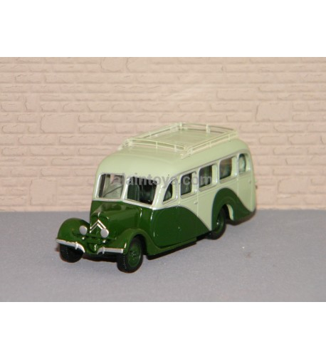 CITROËN U23 AUTOCAR 1947 Light & Dark Green NOREV 1/87 Ref 159929