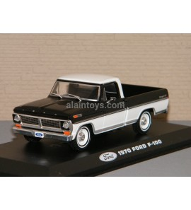 FORD F 100 1970 Noire/Blanche Greenlight 1/43 Réf 86338