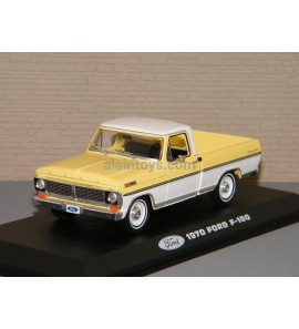 FORD F 100 1970 Jaune/Blanche Greenlight 1/43 Réf 86339