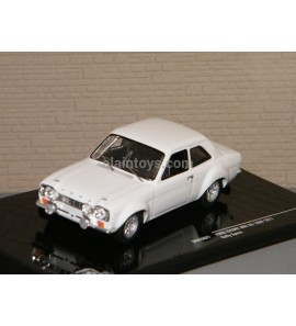 FORD ESCORT MKI RS1600 VERSION PLAIN BODY 1971 WHITH RALLY IXO 1/43 Ref MDCS027