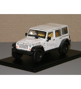 JEEP WRANGLER UNLIMITED MOAB BLANCHE GREENLIGHT 1/43 Ref 86176