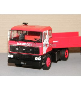 DAF 2800 MAMMOET LOW BOY TRAILER IXO 1/43 Ref TR012
