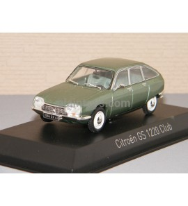 CITROËN GS 1200 Club 1973 Silver Green NOREV 1/43 Ref 158219