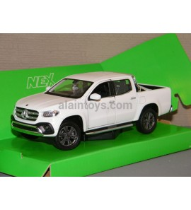 MERCEDES X Classe Blanche WELLY 1:24-1:27 Ref 240611-24100C