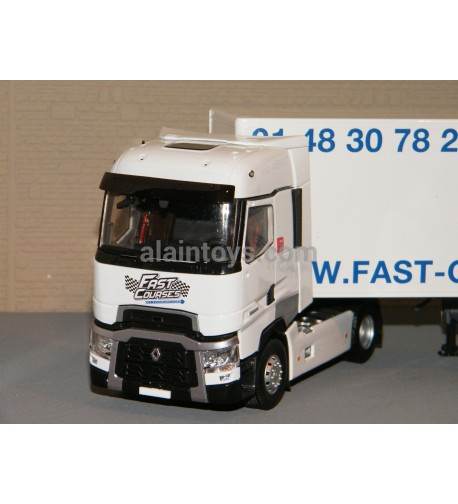 RENAULT T 520 HIGH FOURGON TRANSPORTS FAST COURSES ELIGOR 1/43 Ref 116793