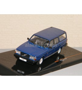 VOLVO 240 POLAR 1988 BREAK Bleue Métal IXO 1/43 Ref CLC324N