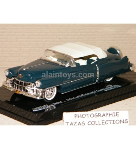 CADILLAC ELDORADO CLOSED CONVERTIBLE BERKSHIRE BLUE VITESSE 1/43